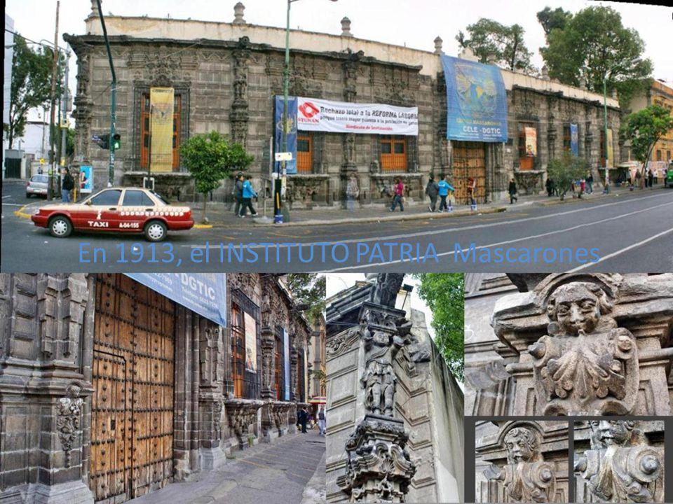 Antiguo colegio Militar en Tacuba D.F cerca de Azcapotzalco, D.F.