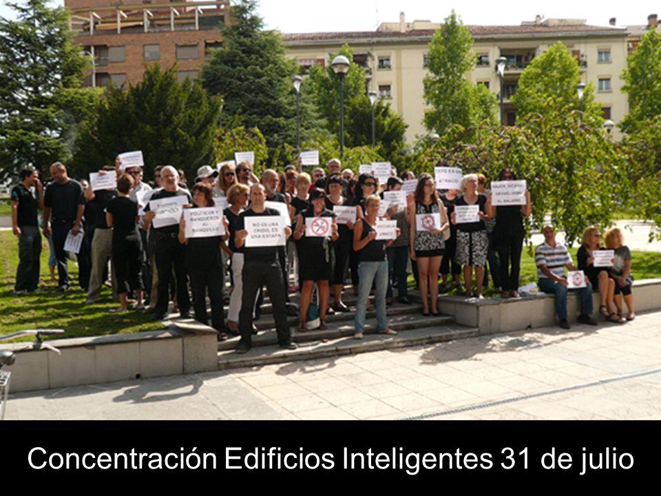 Concentración Edificios Inteligentes 31 de julio