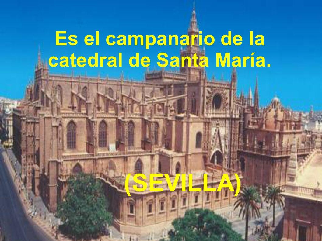 Es el campanario de la catedral de Santa María. (SEVILLA)