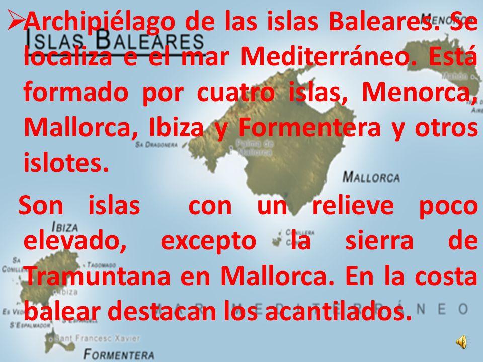 Archipiélagos de las islas Canarias. Se encuentra en el océano Atlántico.Está formado por 7 islas: Lanzarote, Fuerteventura, Gran Canaria, Tenerife, L