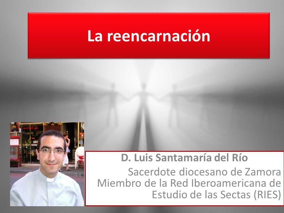 La reencarnación D. Luis Santamaría del Río Sacerdote diocesano de Zamora Miembro de la Red Iberoamericana de Estudio de las Sectas (RIES)