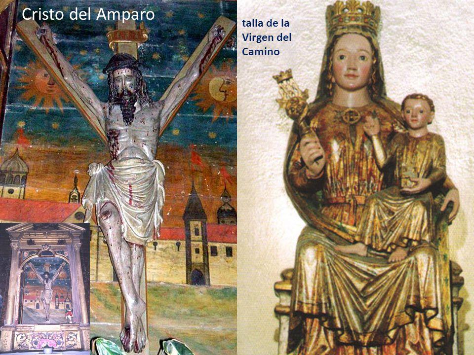Cristo del Amparo talla de la Virgen del Camino