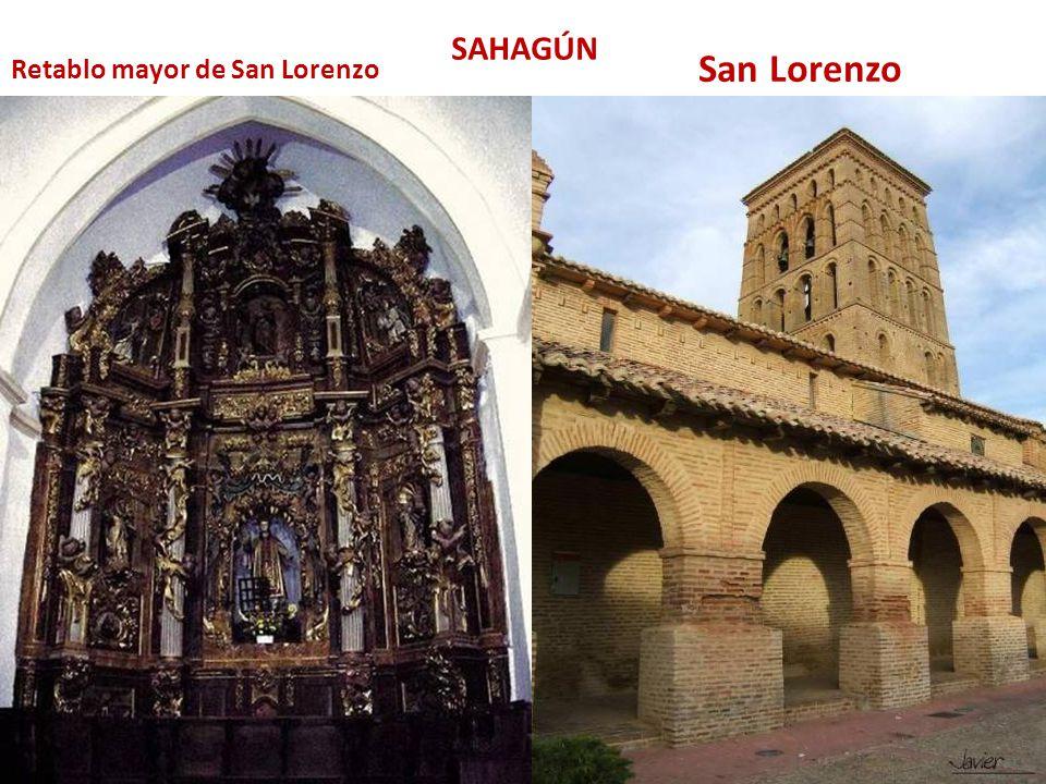 San Lorenzo Retablo mayor de San Lorenzo SAHAGÚN