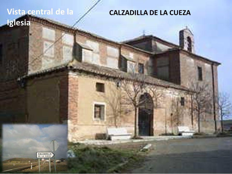 Vista central de la Iglesia CALZADILLA DE LA CUEZA
