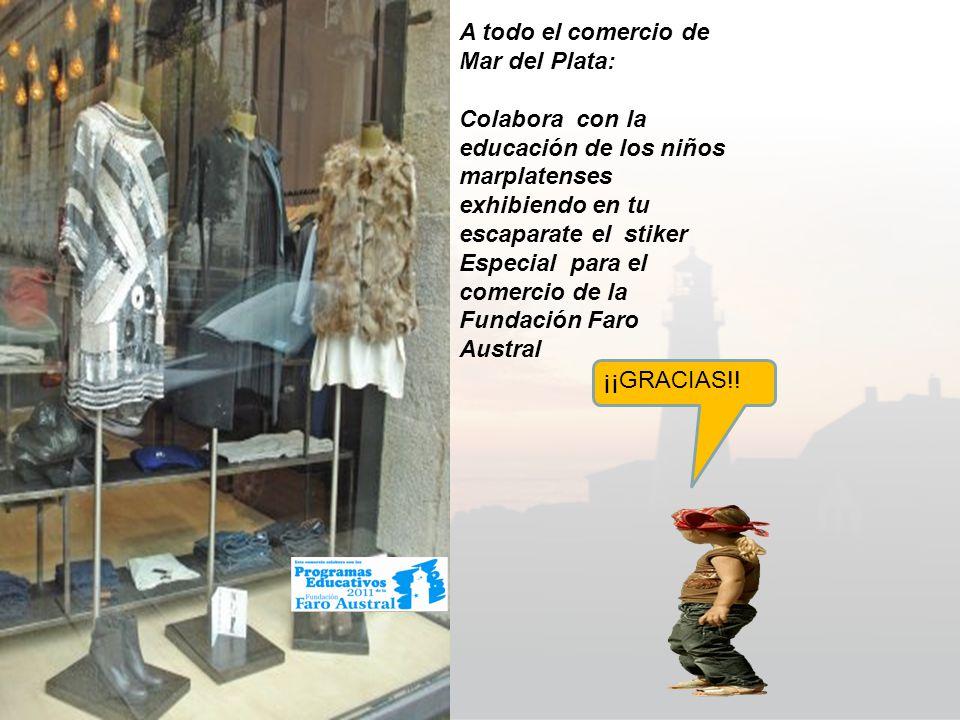 Fundación Faro Austral ¡¡¡PRESENTA!!. Stiker para elcomercio.