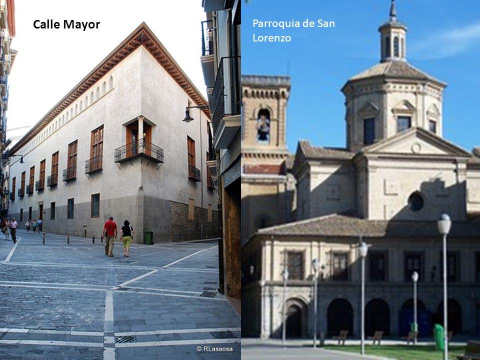 Parroquia de San Lorenzo Calle Mayor