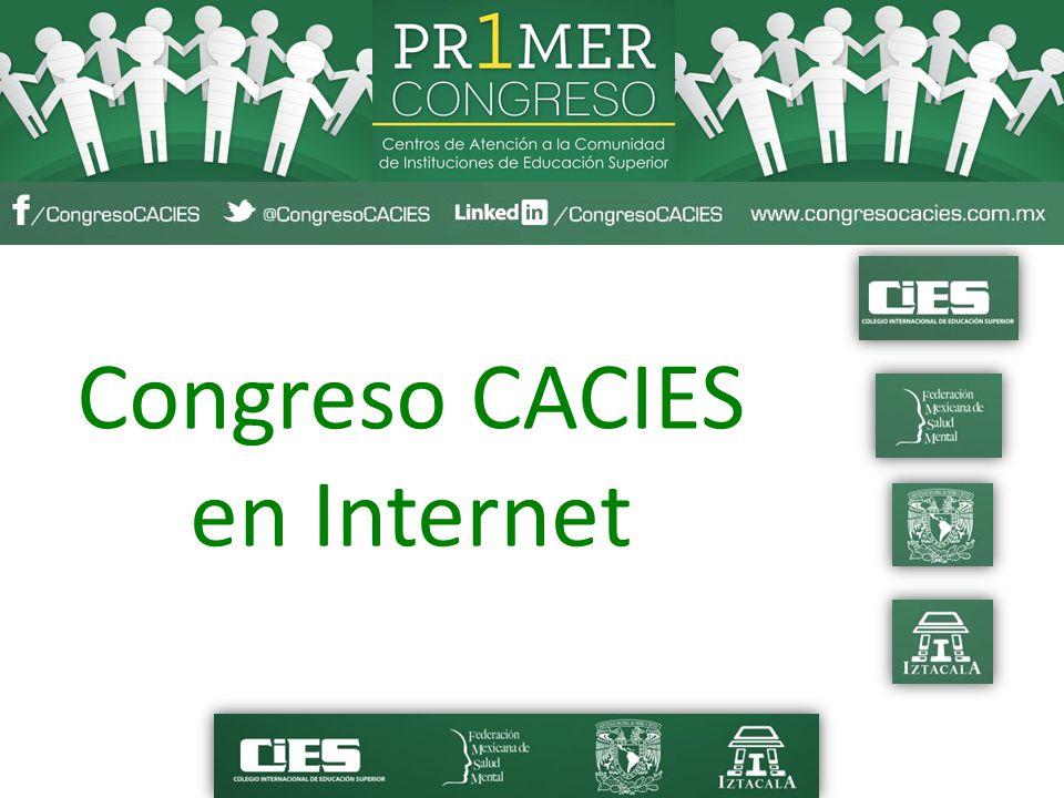 Congreso CACIES en Internet