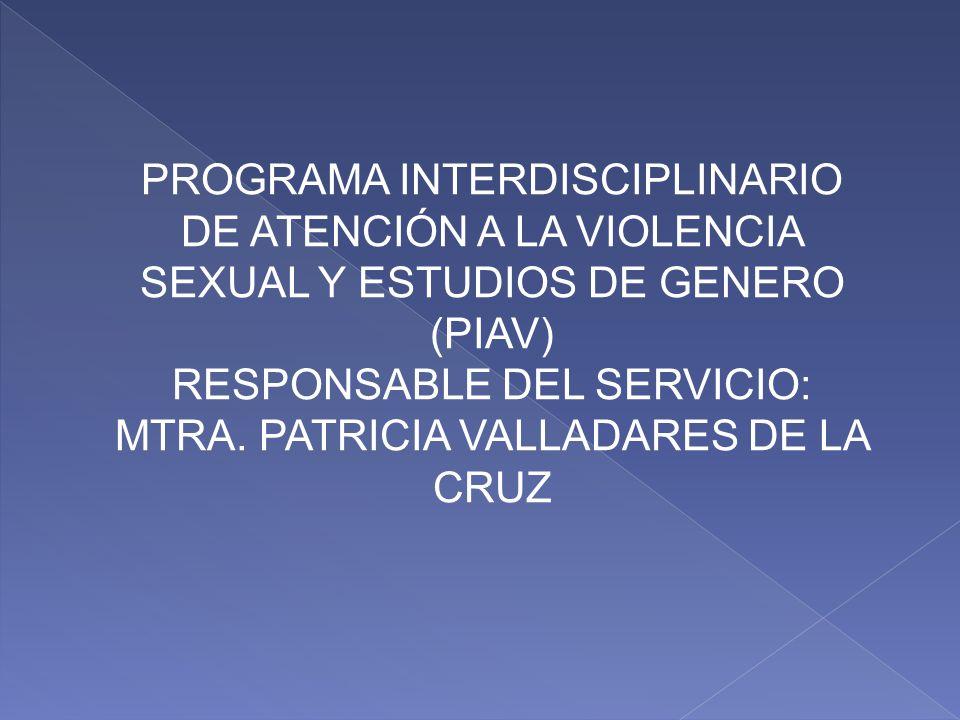 Es un programa con 3 niveles de trabajo: investigación, docencia y servicio. Este último tiene como propósito central, el seguimiento y control del ni