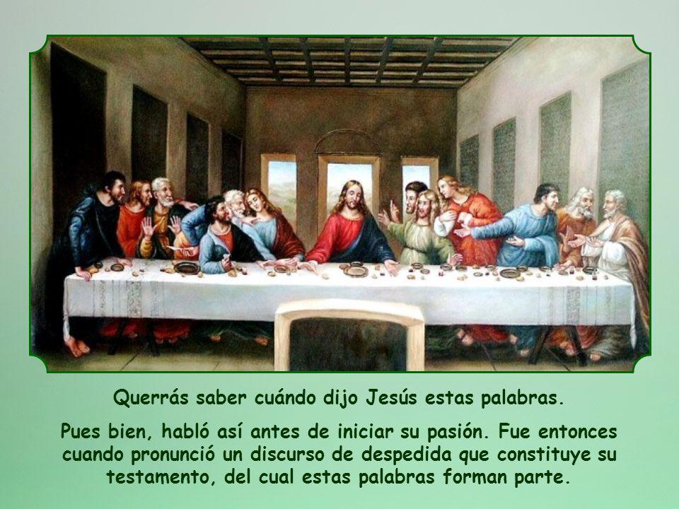 Os doy un mandamiento nuevo: que os améis unos a otros; como yo os he amado, amaos también unos a otros (Jn 13,34)