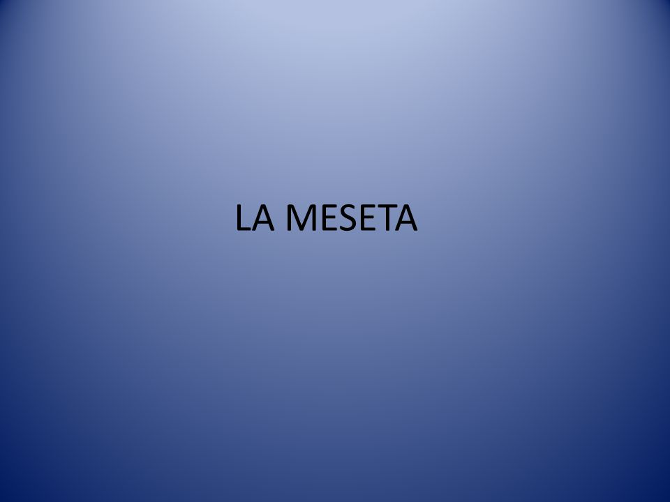 LA MESETA