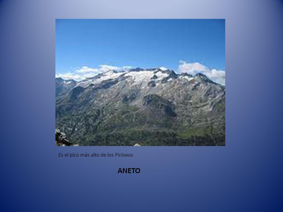 Pirineos que están formado por: