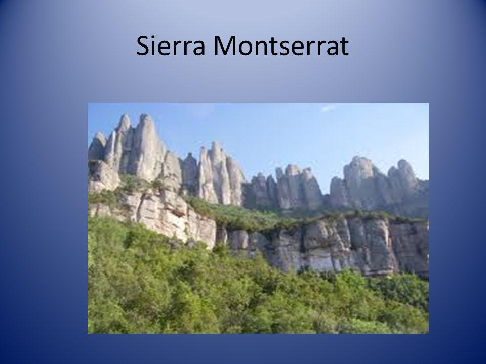 Cordillera Costero-Catalana que está formada por:
