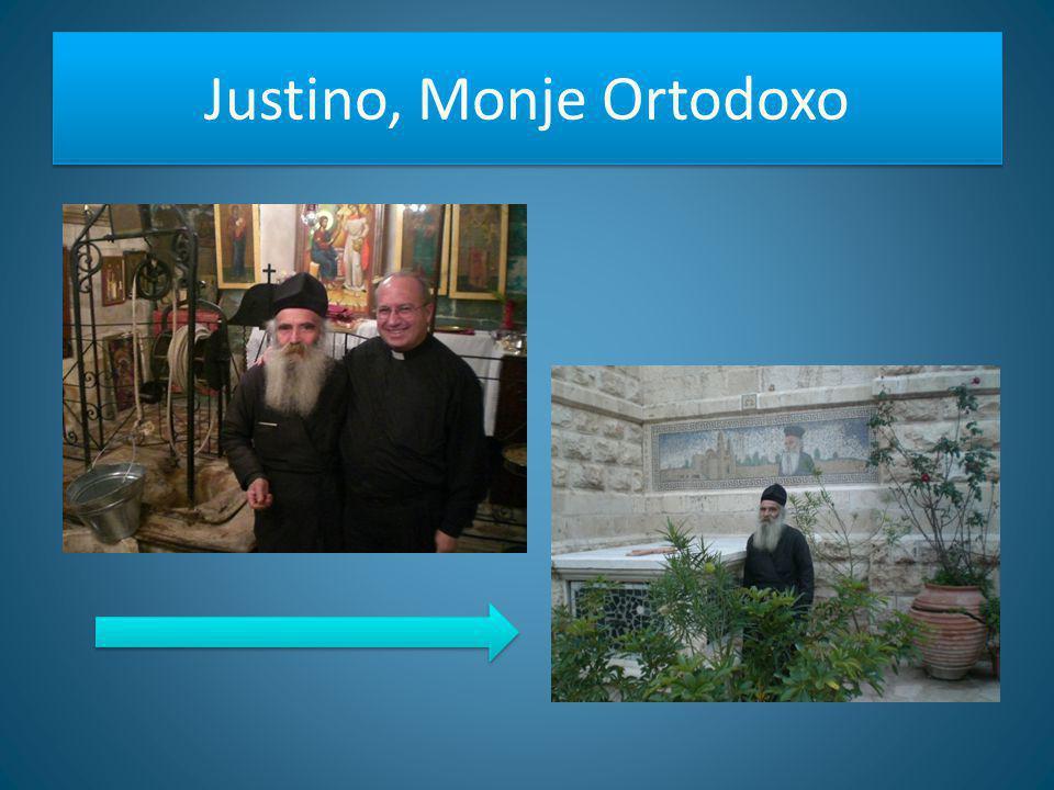 Justino, Monje Ortodoxo