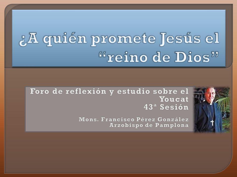 ¿A quién promete Jesús el reino de Dios #89 ¿Hizo Jesús milagros o son sólo cuentos piadosos.