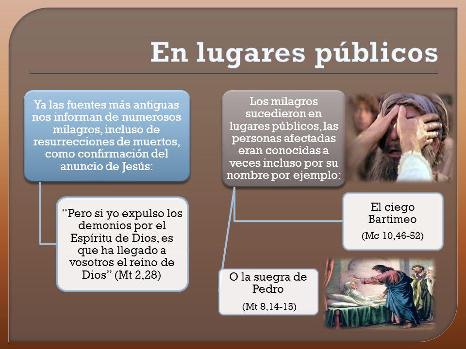 También hubo milagros que representaban para el entorno judío delitos escandalosos por ejemplo: La curación de un paralítico en Sábado, la curación de leprosos, y que, sin embargo, no fueron negados por los judíos contemporáneos de Jesús.