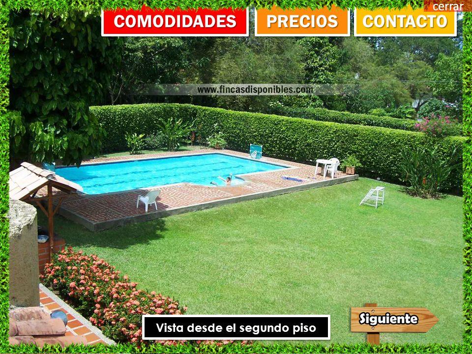 CONTACTO PRECIOS COMODIDADES FOTOS cerrar Santa fe de Antioquia Referencia F02 Para 25 Personas
