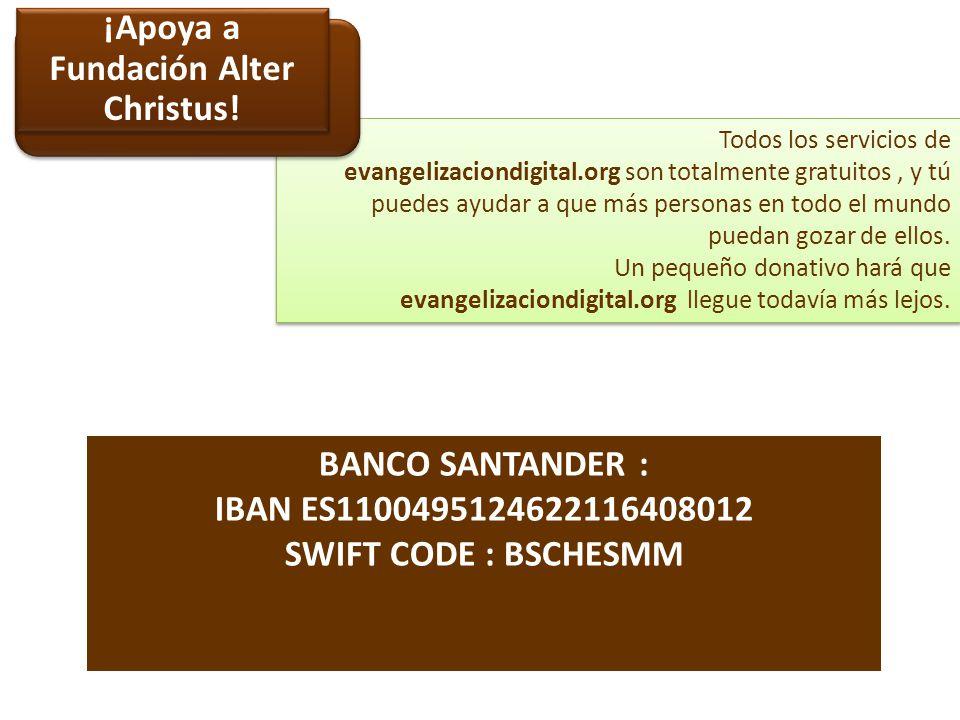 www.evangelizaciondigital.org Nuestra WEB @EvangDigital @PaterAgustin Twitter: http://www.facebook.com/evangelizaciondigital Facebook: Entra en Evangelización digital y te explicamos como hacerlo.
