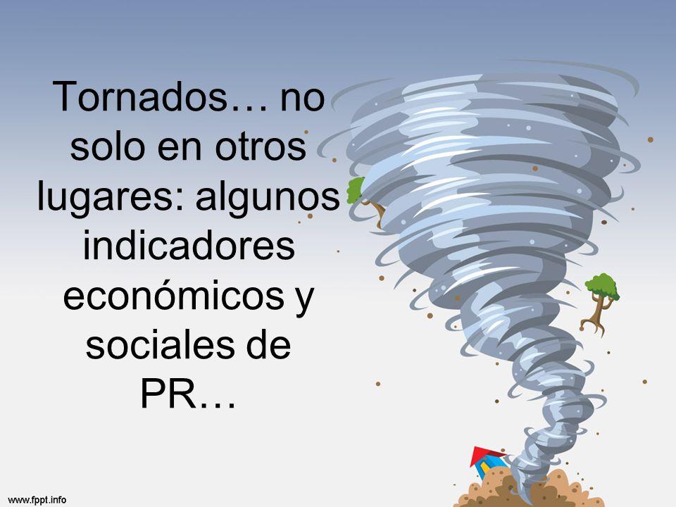 Tornados… no solo en otros lugares: algunos indicadores económicos y sociales de PR…