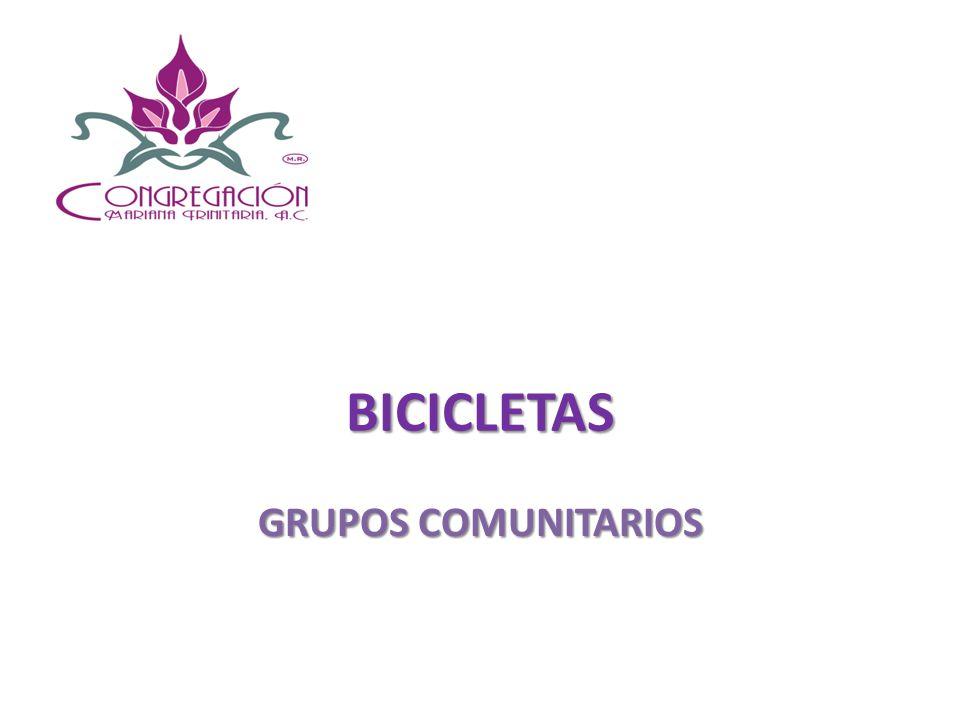 BICICLETAS GRUPOS COMUNITARIOS
