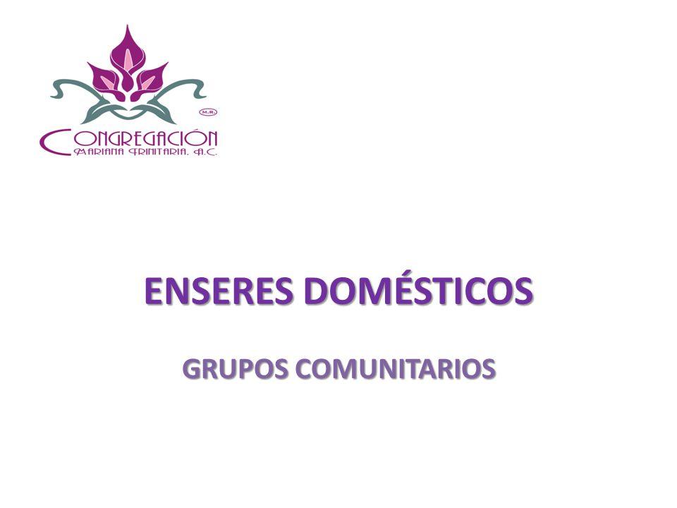 ENSERES DOMÉSTICOS CON EL OBJETO DE FACILITAR EL DISFRUTE DE LA FAMILIA CON TIEMPO DE CALIDAD, ALGUN@S BENEFICIARI@S, ESTÁN SOLICITANDO ESTA HERRAMIENTA.