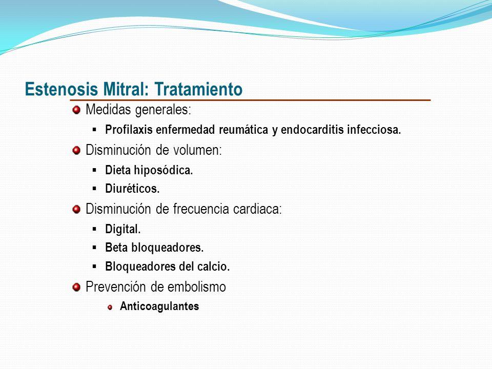 Graduación de severidad Normal : área entre 4 -6 cm 2. EM leve: área entre 1.5-2 cm 2. EM moderada: área entre 1-1.5 cm 2. EM severa: área < 1 cm 2.