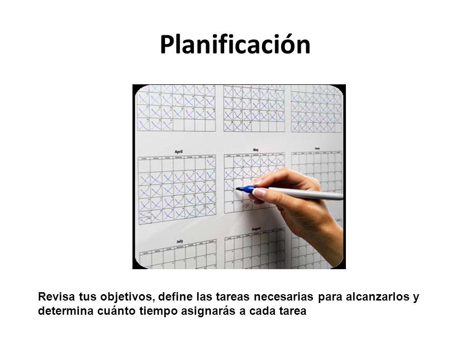 Seguimiento y evaluación Después de haber cumplido tu plan durante un periodo razonable, detente a reflexionar.