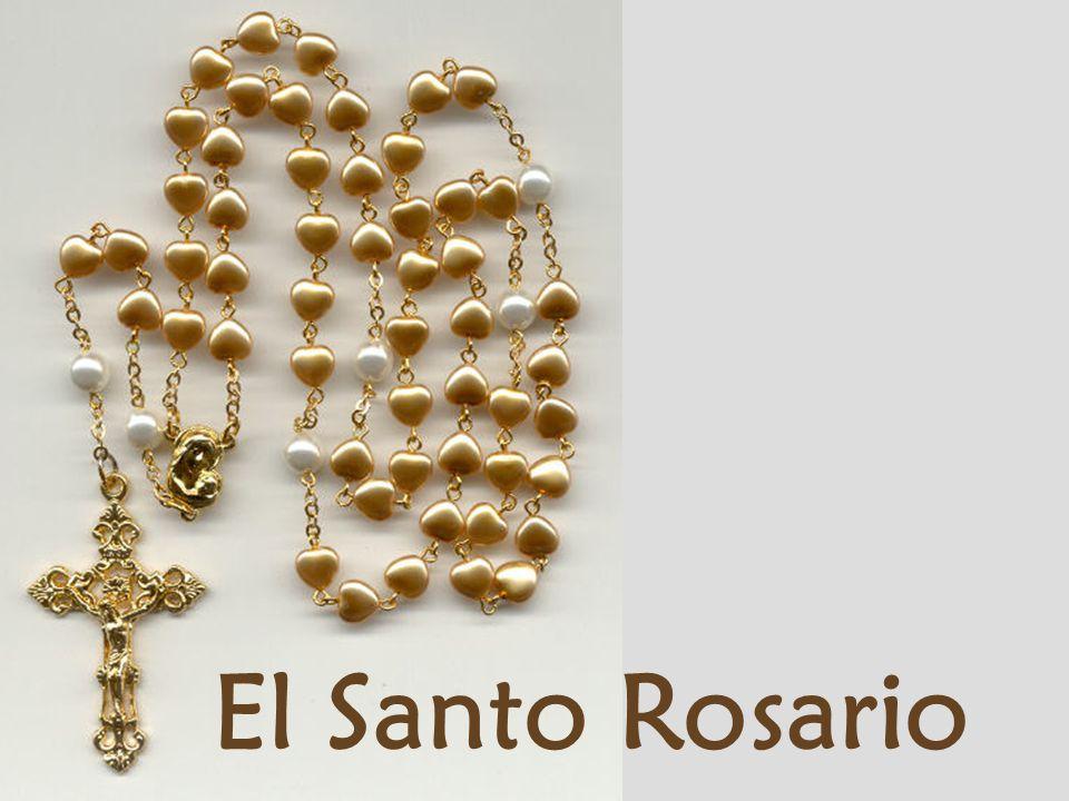 9.- Libraré del Purgatorio a quienes recen el Rosario devotamente.