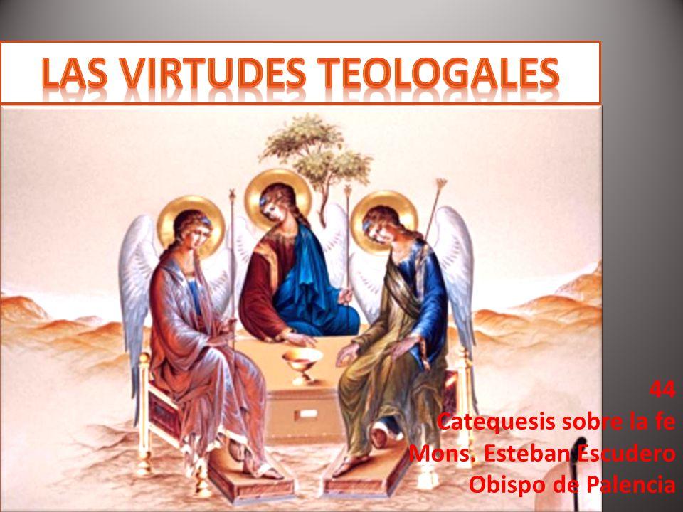 Las virtudes teologales, don de Dios La fe, la esperanza y la caridad.