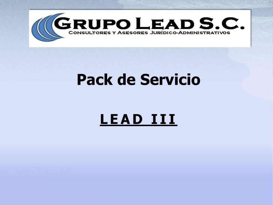 Pack de Servicio LEAD III
