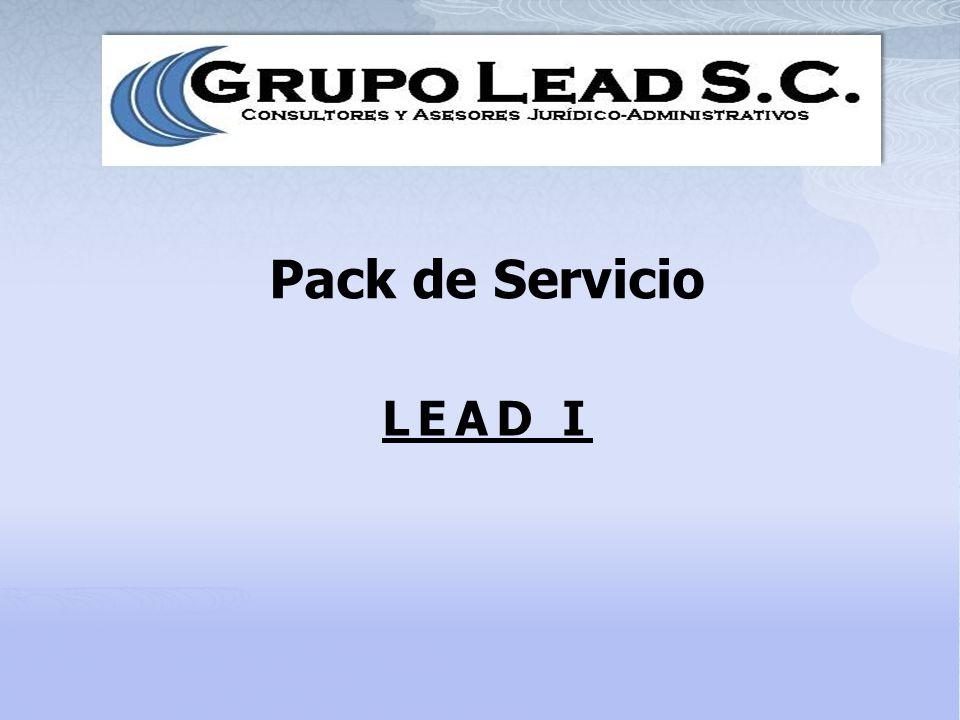 Pack de Servicio LEAD I