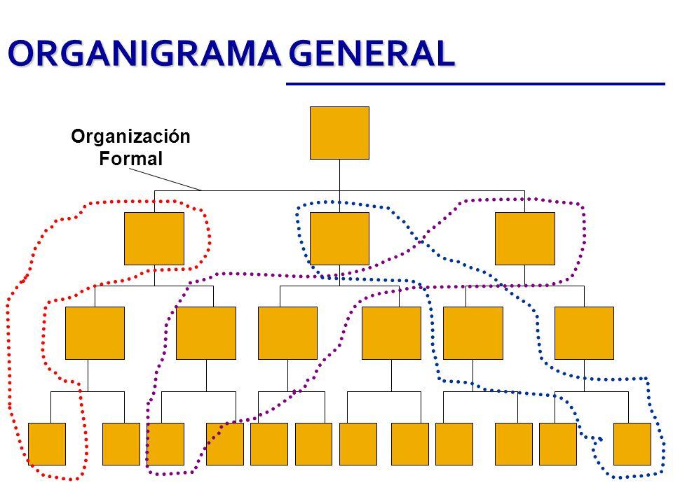 ORGANIGRAMA GENERAL Organización Formal