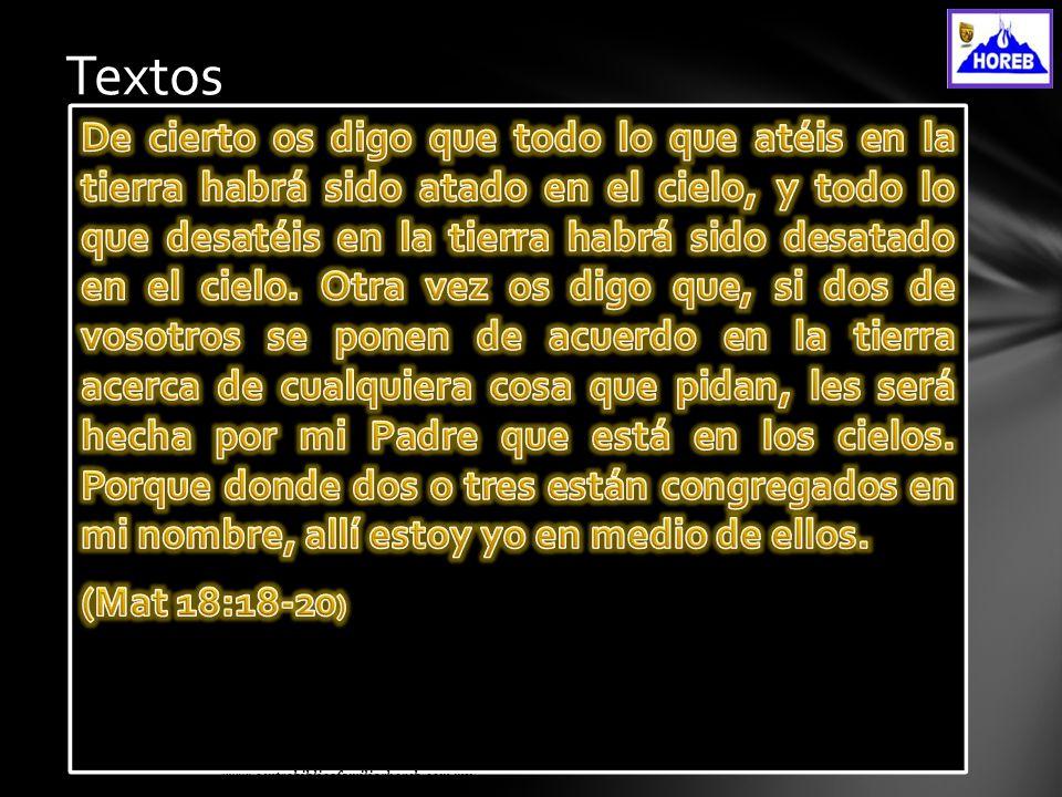 www.centrobiblicofamiliarhoreb.com.mx Textos