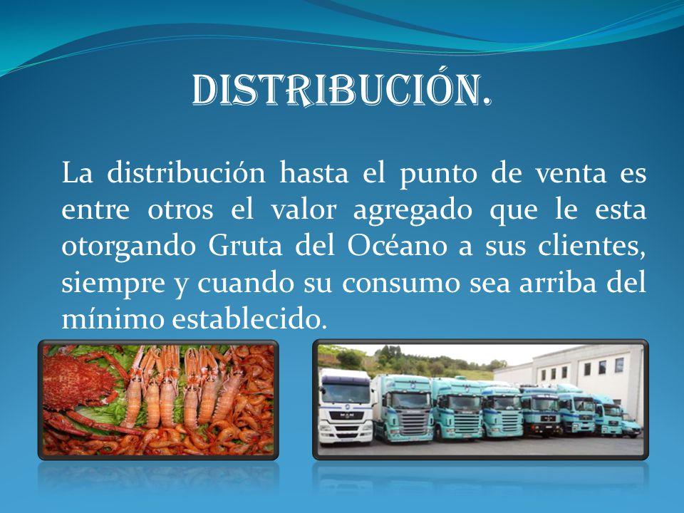 distribución.