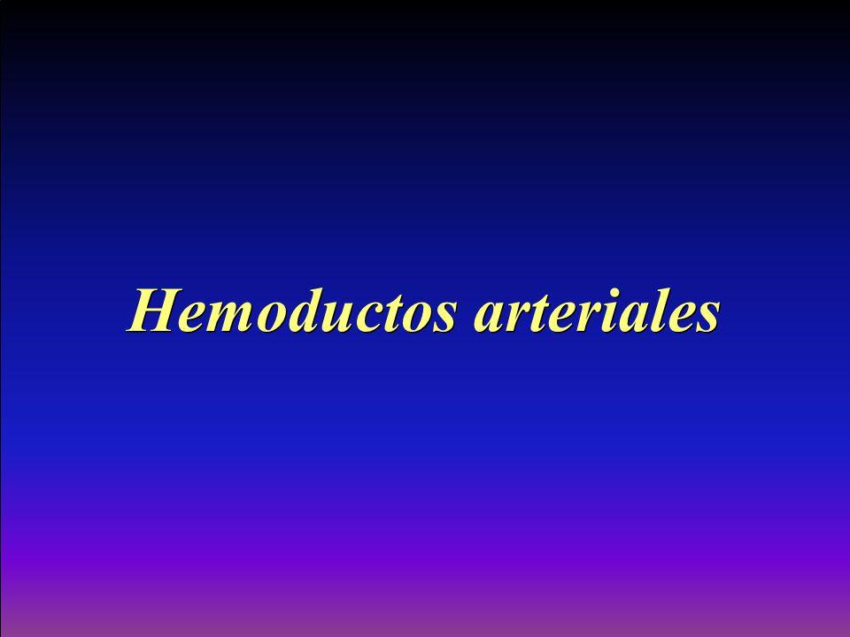 Hemoductos arteriales
