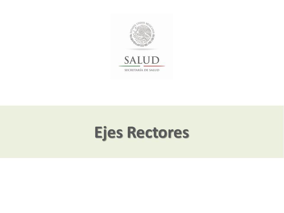 Julio, 2013 Ejes Rectores