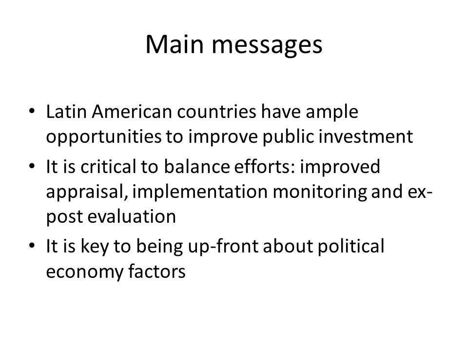 Latin American countries invest below the world average…