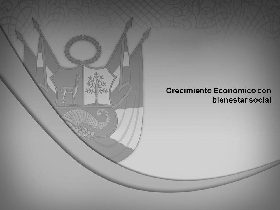 Crecimiento Económico con bienestar social