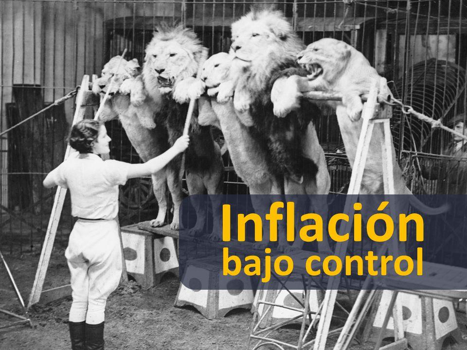 Inflación bajo control