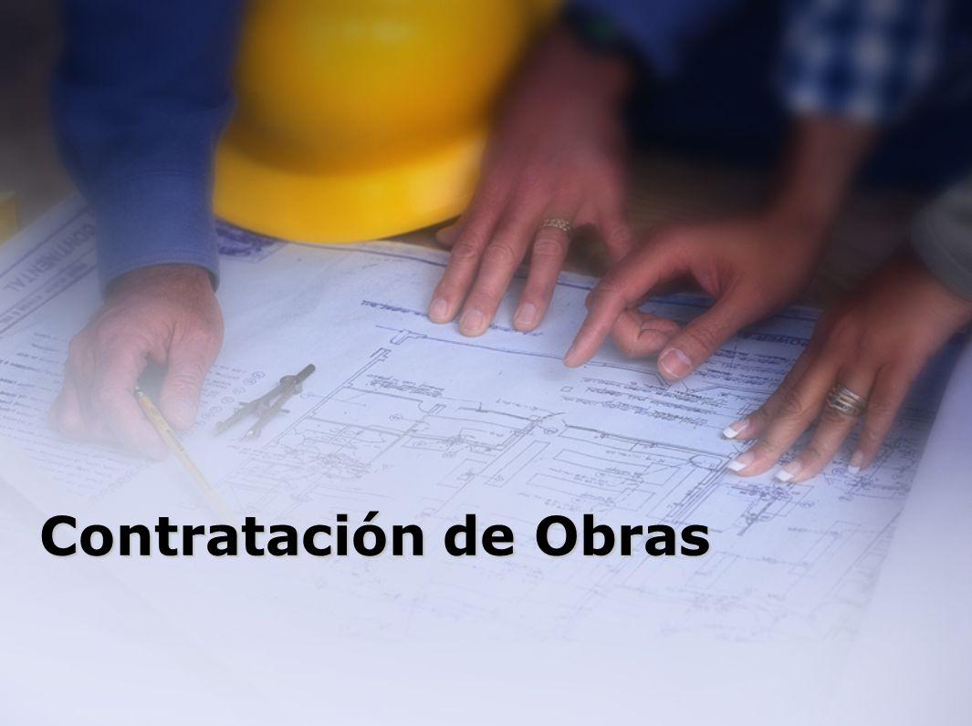 Contratación de Obras