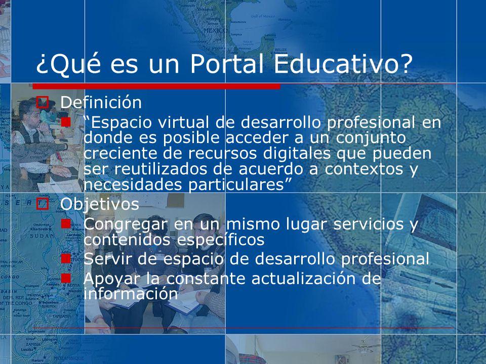 ¿Qué es un Portal Educativo.