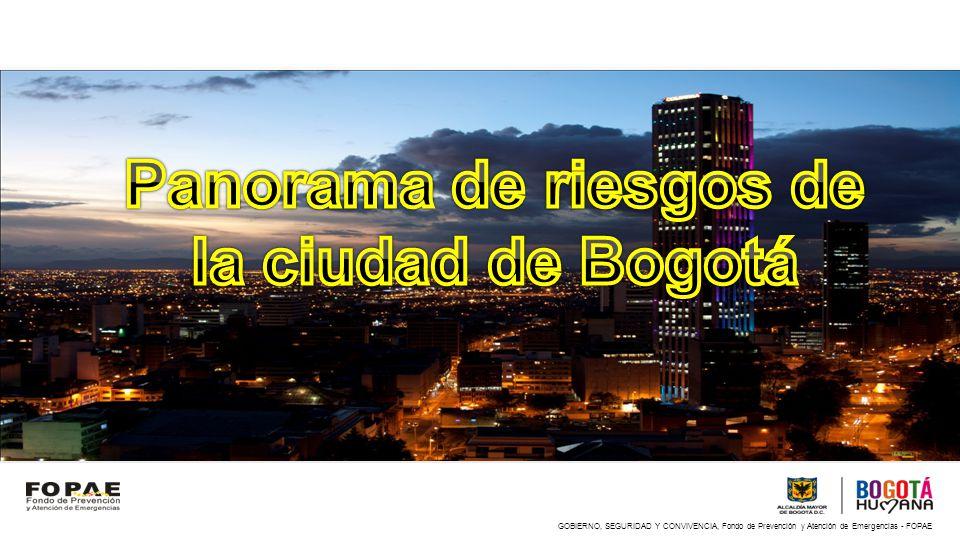 8 262 000 de habitantes - 17% de la población colombiana 2.056.000 viviendas El PIB de la ciudad es $71.6 billones (2009)
