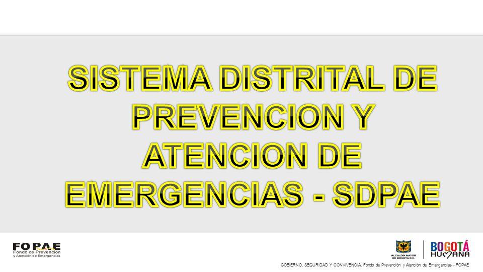 GOBIERNO, SEGURIDAD Y CONVIVENCIA, Fondo de Prevención y Atención de Emergencias - FOPAE AVANCES, METAS Y LECCIONES APRENDIDAS Incorporación del componente de riesgo en los POT