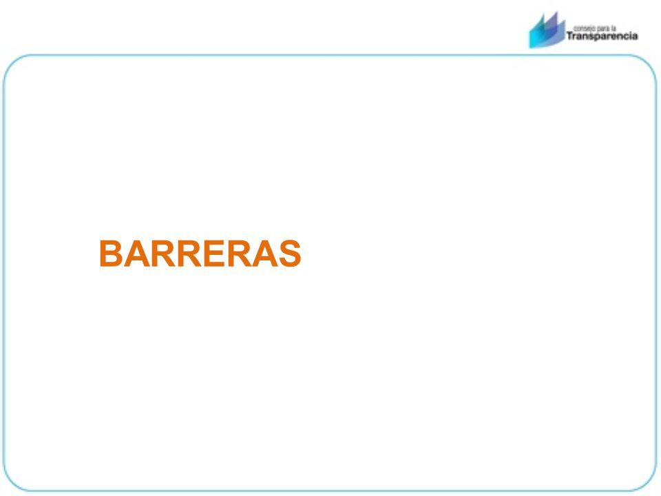 BARRERAS