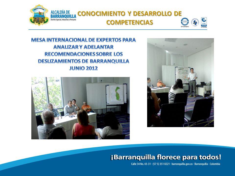 CONOCIMIENTO Y DESARROLLO DE COMPETENCIAS