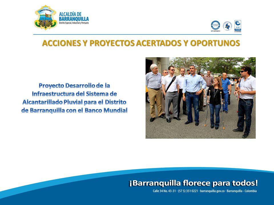 ACCIONES Y PROYECTOS ACERTADOS Y OPORTUNOS