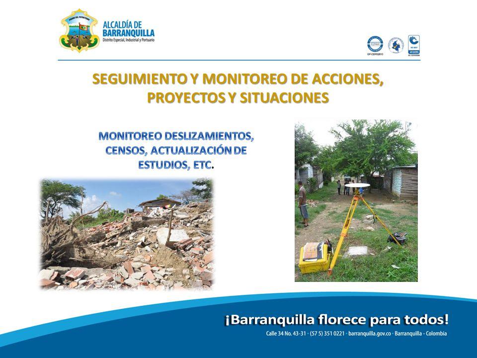 SEGUIMIENTO Y MONITOREO DE ACCIONES, PROYECTOS Y SITUACIONES