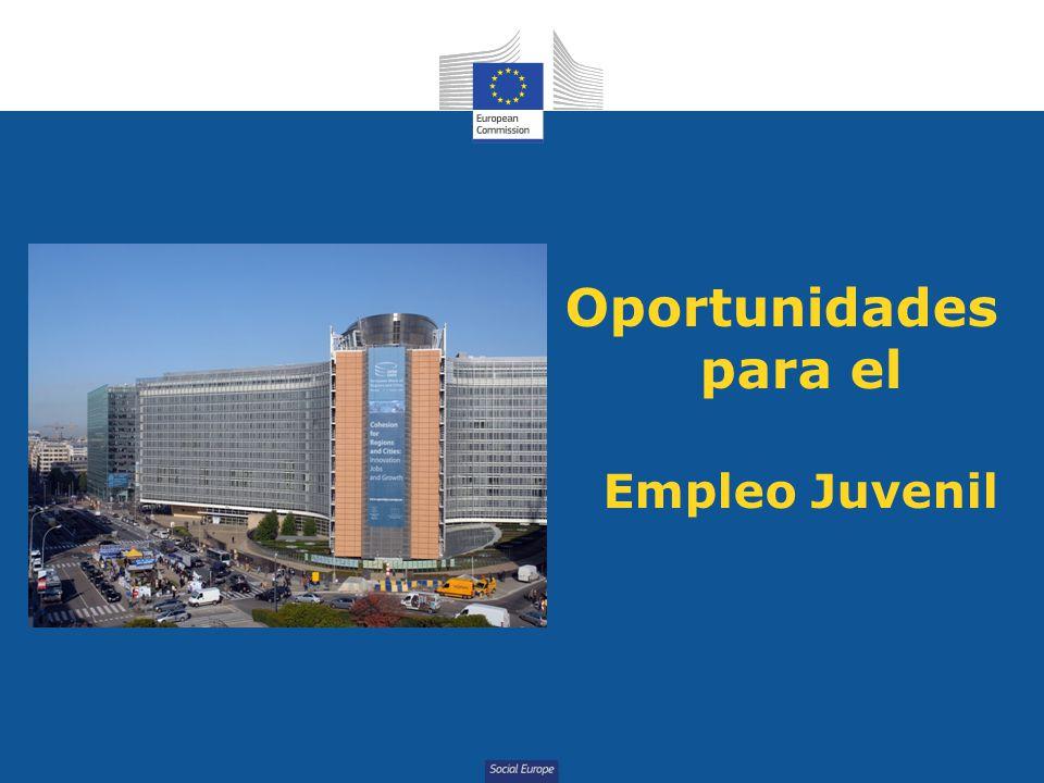 Social Europe Oportunidades para el Empleo Juvenil