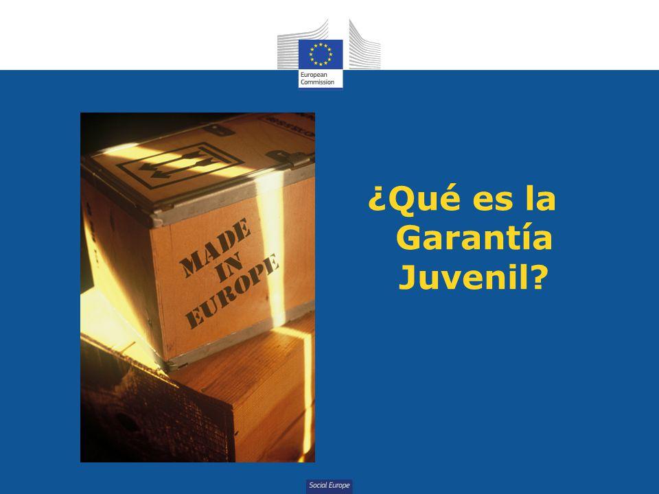 Social Europe ¿Qué es la Garantía Juvenil?
