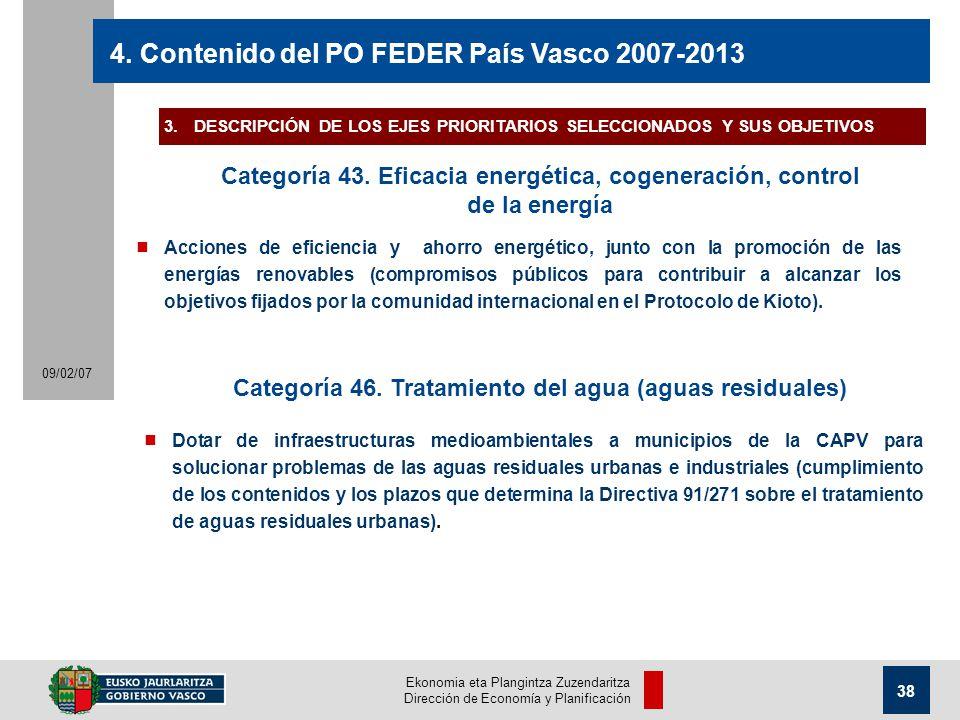Ekonomia eta Plangintza Zuzendaritza Dirección de Economía y Planificación 38 09/02/07 4.