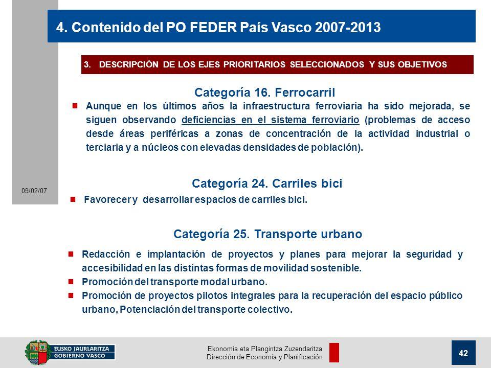 Ekonomia eta Plangintza Zuzendaritza Dirección de Economía y Planificación 42 09/02/07 4.